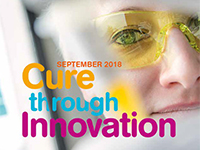 "Illustration for news: The ""Cure Through Innovation 2018"" booklet: all AFM-Téléthon at a glance"