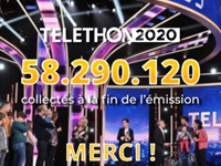 Illustration for news: Telethon 2020: 58 290 120 euros!