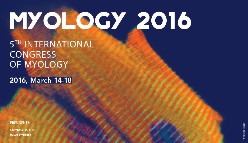 Illustration for article: Myology 2016, 5th edition from March 14 to March 18 in Lyon